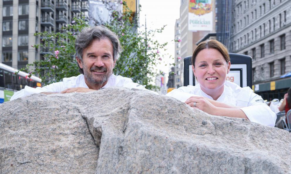 Pasta e fagioli con midollo: Carlo Cracco riscrive il classico a New York
