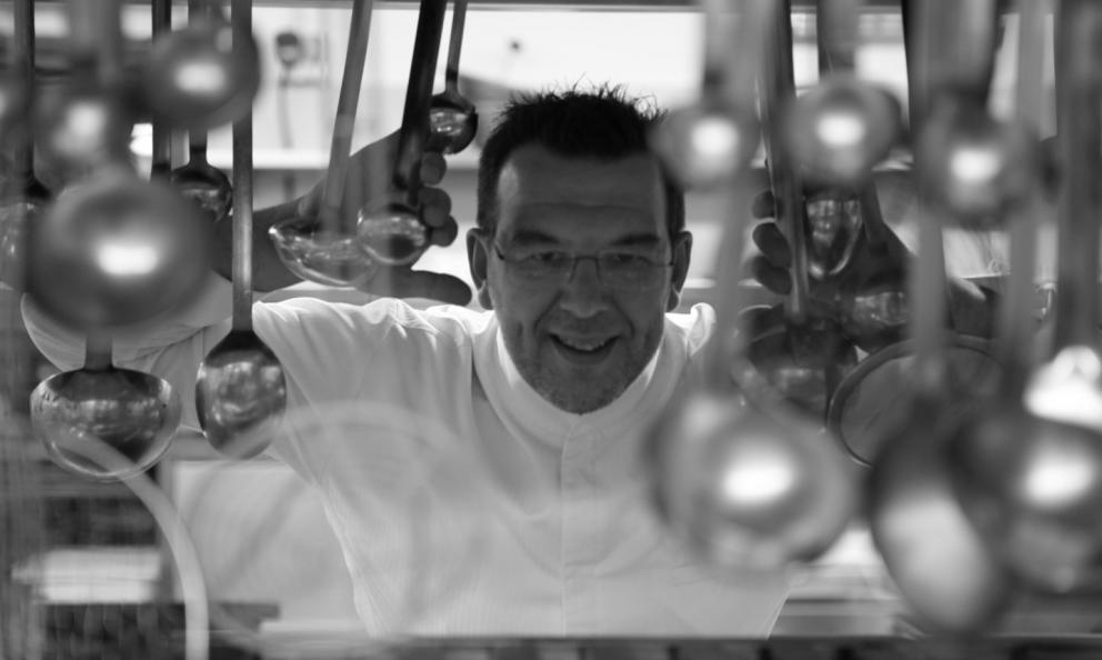 Alessandro Gavagna, classe 1972: è lo chef del Cacciatore de La Subida, e sarà il prossimo ospite delle cucine di Identità Golose Milano