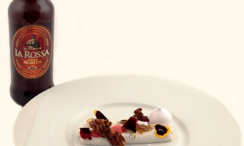 As a match and as an ingredient: Birra Moretti La Rossa