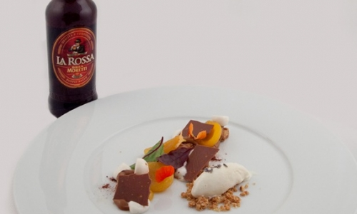 As a match and as an ingredient,Birra Moretti La Rossa