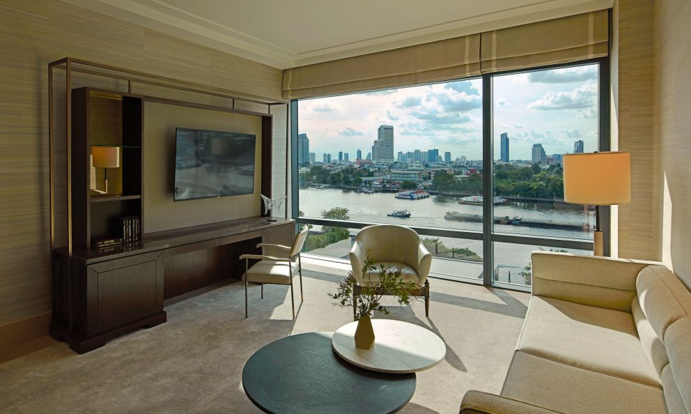 A River SuiteatCapella Bangkok, luxury hotel that also includes restaurant C�tewith Argentinian Mauro Colagreco