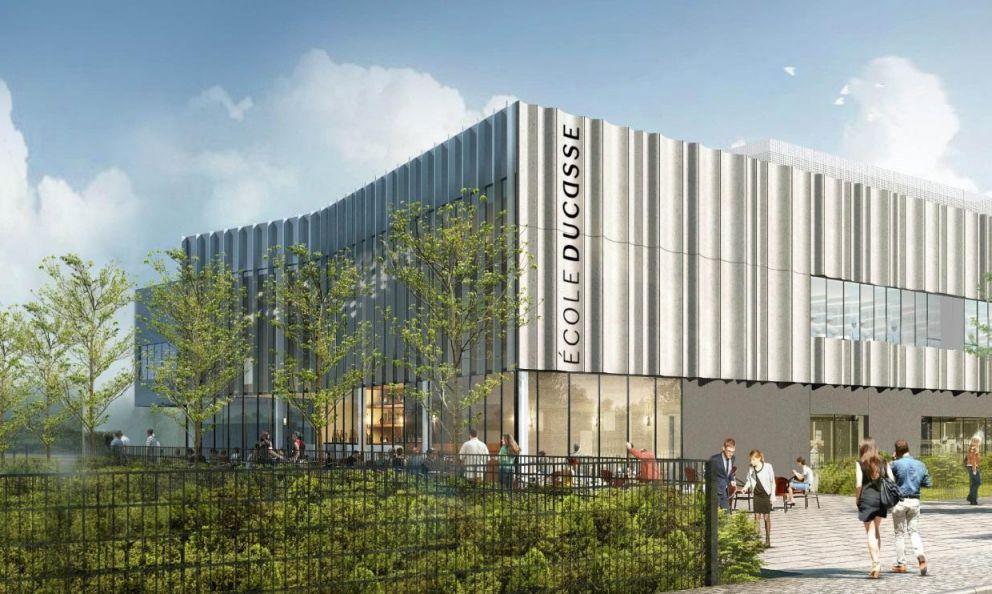 The newÉcole Ducasse – Paris Campusin Paris-Meudon, born from a partnership betweenÉcole DucasseandSommet Education