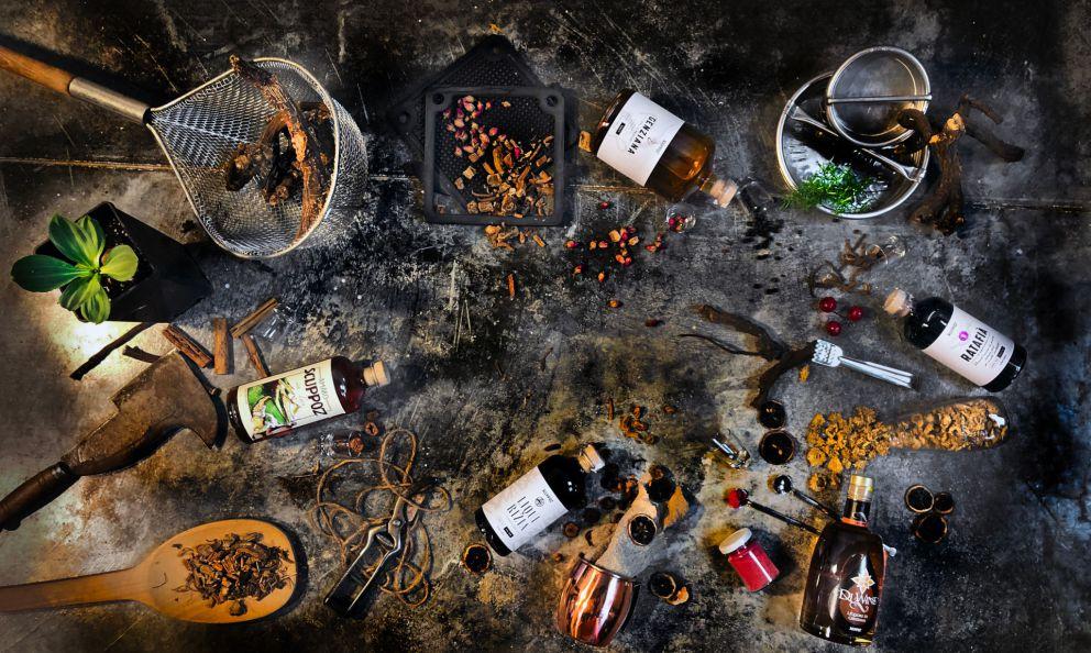 Scuppoz, un fragoroso brindisi con i liquori d'Abruzzo