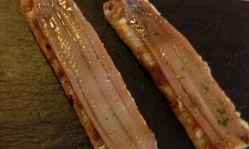 Extebarri's anchovies