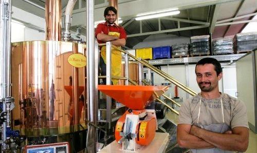 Marco Rubelli ed Enrico Dosoli nel back office del