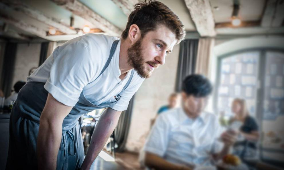 Stefano Ferraro, from Torino, since February 2018 is head pastry-chef atNomain Copenhagen, restaurant number two according to the World's 50Best, and 2 Michelin stars