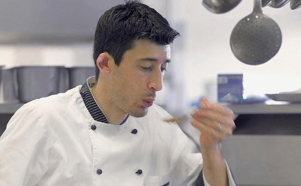 Lo chef Stefano Basello,classe 1974 da Majano