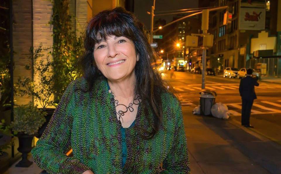 Ruth Reichl, 70 anni, americana di New York. E' stata critica gastronomica per Los Angeles Times (1984-1993) eNew York Times (1993-1999). Foto facebook
