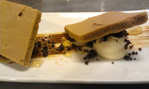 Luca De Santi's creative Tiramisu. Last Thursday