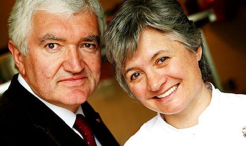 Antonio and Nadia Santini, husband and wife since