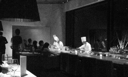 La cucina dell'Arcana, un albergo sperduto nelle f