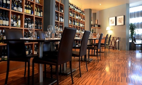 The dining room of Damini & Affini in Arzignano (V