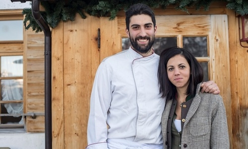 Riccardo Gaspari and partner Ludovica Rubbini, the