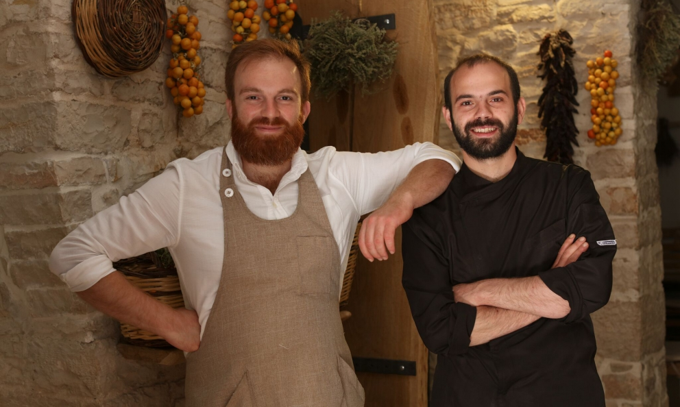 I fratelli Francesco e VincenzoMontaruli