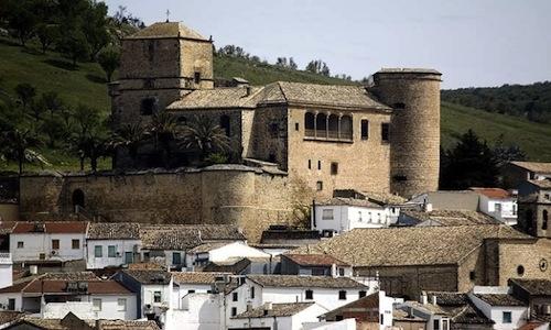 Lo scenario del Castillo de Canena, azienda spagno