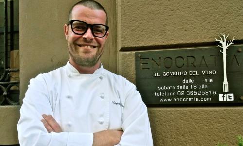 Eugenio Boer, cuoco 33enne di Enocratia in via San