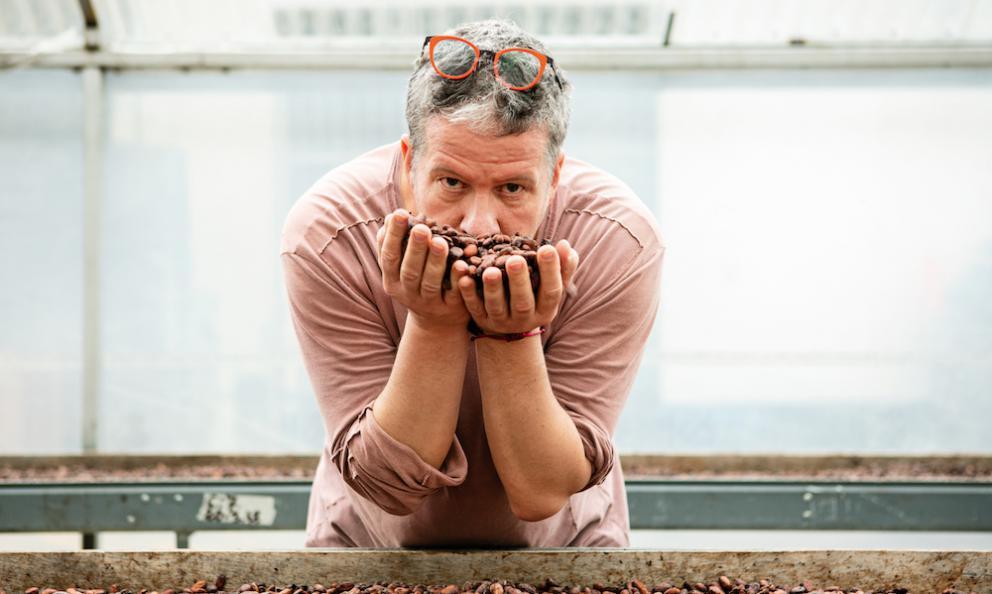 Il pasticcere Ernst Knam. Presto sarà protagonista della seconda edizione dellaKnam Chocolate Experience, insieme a colleghi famosi