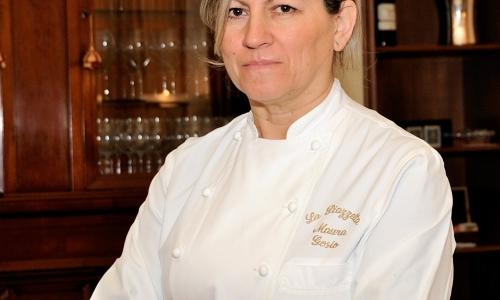 La cuoca Maura Grosio, già firma stellata della Piazzetta di Ferno, Varese