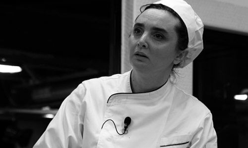 Maria Luisa Scolastra, cuoca di Villa Roncalli a Foligno (Perugia)