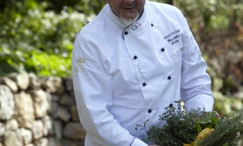 Giuseppe Resta, cuoco contadino alCaesar Augustus di Capri (Na)