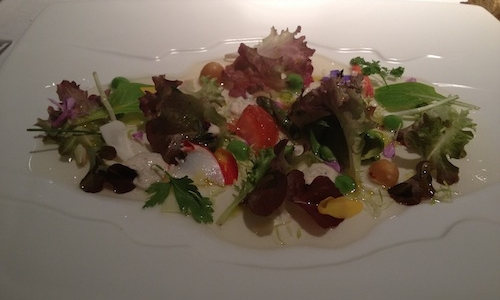 L'insalata tibia di Martin Berasategui