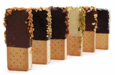 I biscotti gelato, novità estiva della Gelateria