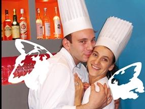 """Marco e Annabelle Viganò, """"angeli"""" rispettivamente di cucina e sala"""
