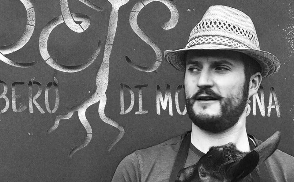 Juri Chiotti, chef di Reis - cibo libero di montagnaa Frassino (Cuneo)