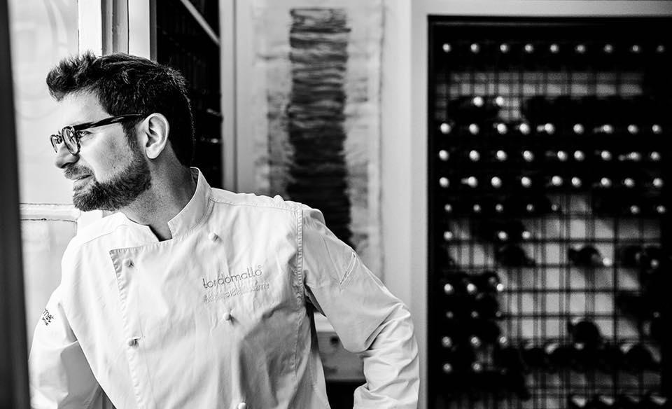Il grande irregolare della cucina romana lo definisce la Guida di Identità Golose 2018, che ha tra le sue novità Il Tordomatto di Adriano Baldassarre. Il quale, forse a confermare il suo essere spesso e volentieri un uomo pieno di risorse e di inventiva, sta per aprire un ristorante a Nuova Delhi, all'interno dell'hotel più lussuoso della città (foto Lido Vannucchi)