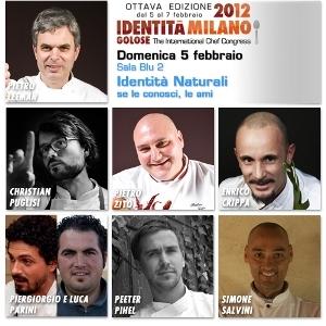 Nel collage di Manuel Crippa, i volti dei 7 protagonisti di Identità Naturali, 5 febbraio in Sala Blu 2 del MiCo, via Gattamelata 5 a Milano