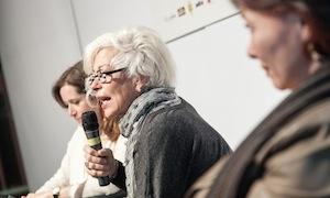 Al centro, Licia Granello, a destra Maida Mercuri: focus sulle donne