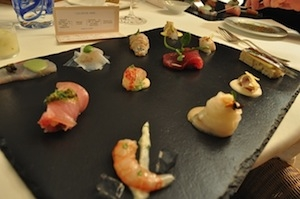 Raw fish in 12 different ways
