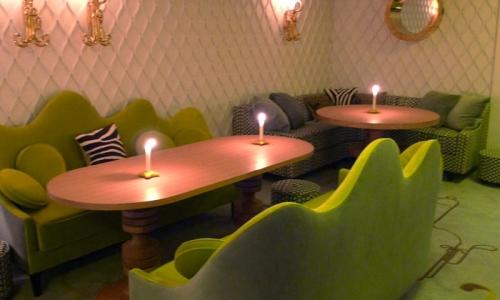 The intimate gourmet restaurant ofPiège