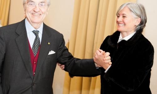 LEGGENDE. Gualtiero Marchesi e Nadia Santini