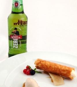 Ingredients: Birra Moretti, Birra Moretti Grand Cru, Birra Moretti Doppio Malto.Beer match: Birra Moretti Zero