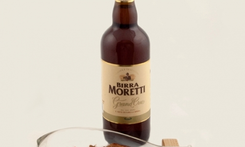 As a match and as an ingredient: Birra Moretti Grand Cru