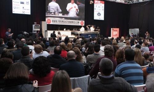 La platea del Fórum Gastronómico 2014, appena chiuso aLa Coruña
