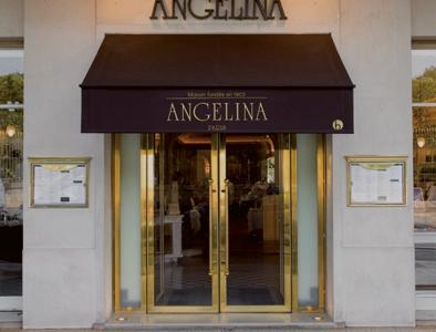 The entrance ofAngelina, in 226 rue de Rivoli