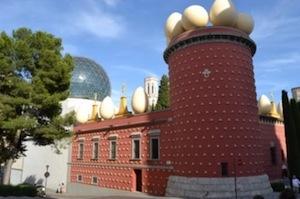 La casa di Salvador Dali a Figueres