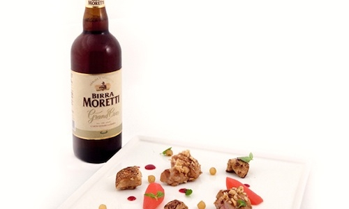 The match: Birra Moretti Grand Cru