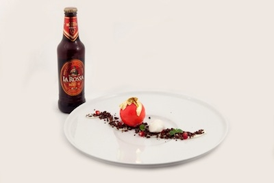 Perfect drink match: Birra Moretti La Rossa