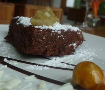 Una classica Torta pere e cioccolato