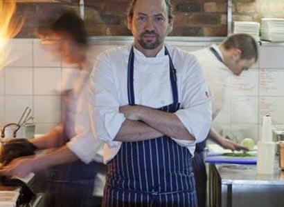 Lo chefBertus Basson, già a Londra allo Chez Bruce
