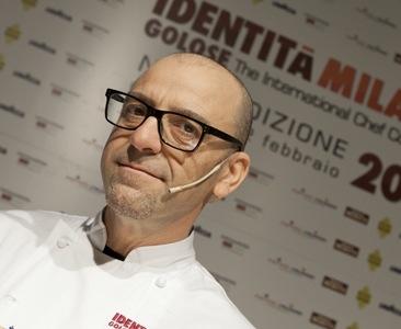 Frank Rizzuti, mattatore della pasta del Sud (foto Michele Bella)