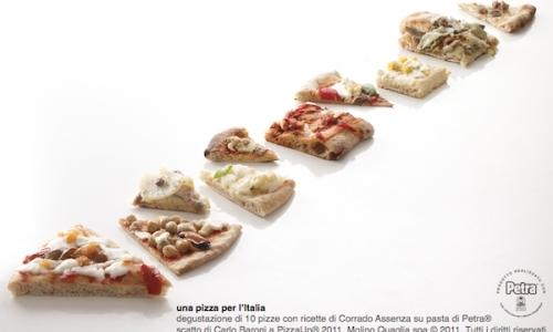 Parziale di una Pizza per l'Italia di Corrado Assenza