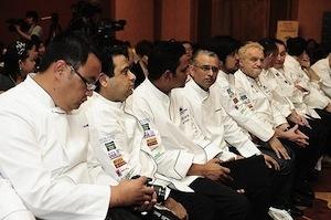 La platea del WGS. Secondo Cnn Travel, Singaporepuò contare su 2.107 ristoranti