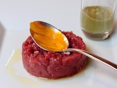 La razza piemontese è all'origine di splendide tartare (foto Passione Gourmet)
