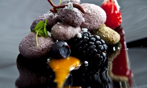 Rhubarb-based dessert, a Nordic classic