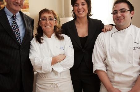 Marta Grassi e il suo staff