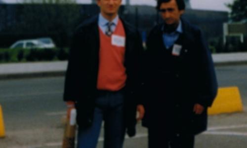 Antonio e Sebastiano Vasile a Bruxelles, teatro della Seafood Expo